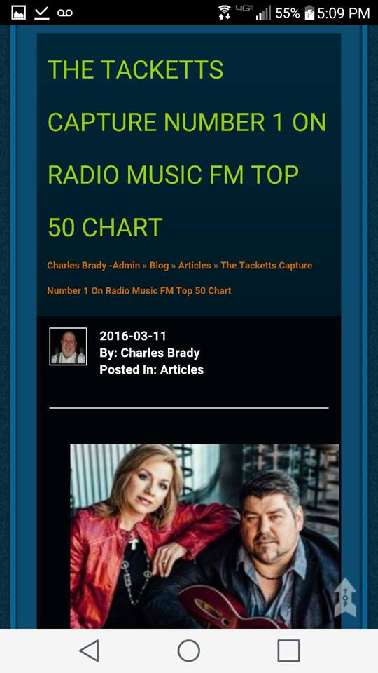 RadioMusicFM Chart - Tacketts #1